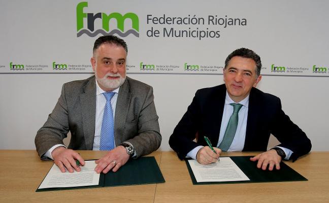 El Gobierno aporta 115.000 euros a la Federación Riojana de Municipios