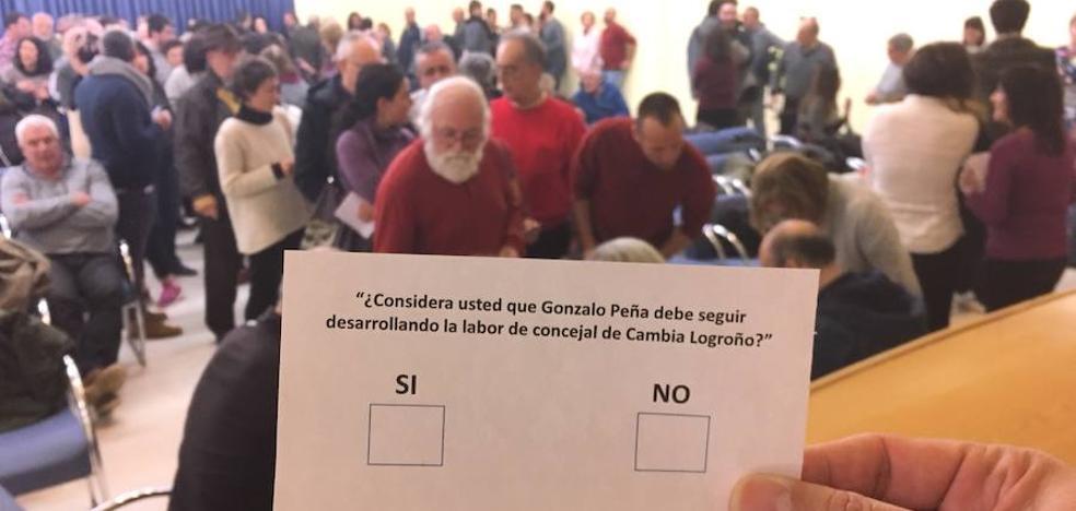 Gonzalo Peña seguirá como concejal