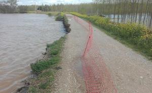 El Gobierno recomienda a los vecinos de Alfaro que almacenen agua potable por la crecida del Ebro