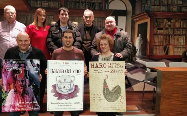 El Ayuntamiento presenta los tres carteles de fiestas seleccionados por el jurado