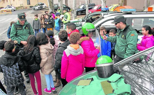 Los escolares aprenden de emergencias