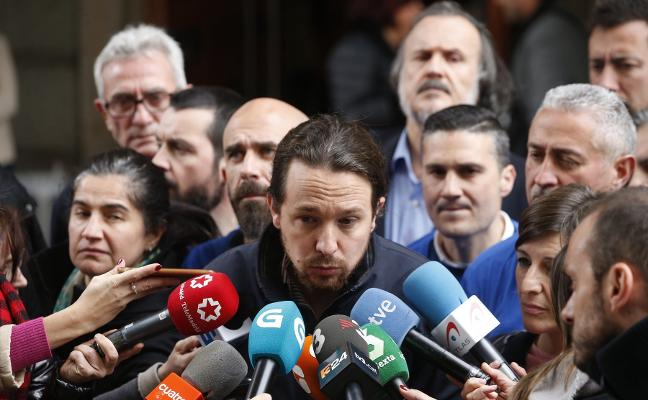 Iglesias mantiene su modelo de primarias pese al ultimátum de Errejón