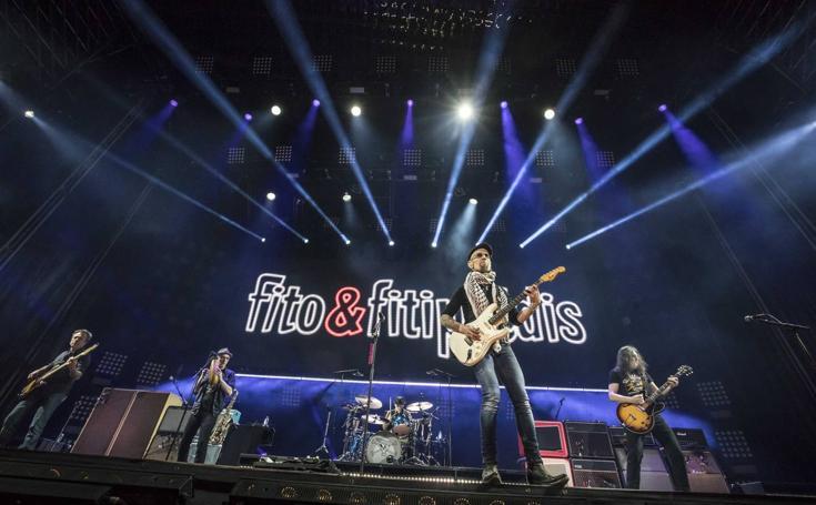 Fito y Fitipaldis llenan en Logroño
