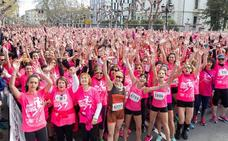 La Carrera de la Mujer viste Logroño de rosa