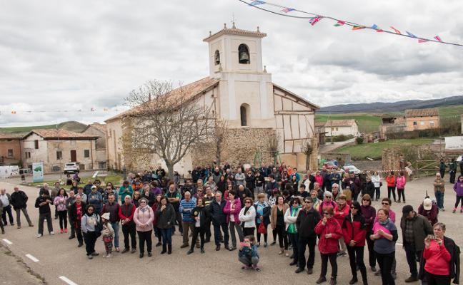 Viloria de Rioja se llenó de solidaridad