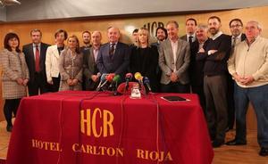 García Calzada presenta una candidatura de «unidad empresarial»