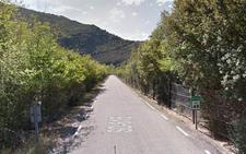 Cortes de carretera entre Enciso y Yanguas por la subida del nivel del Cidacos