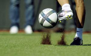 La Federación Riojana de Fútbol aporta 100.000 euros para un campo en Calahorra