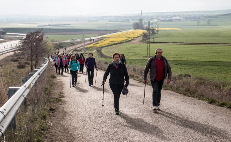 Marcha a Viloria de Rioja