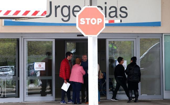 Salud reabre 24 camas en el Hospital de La Rioja tras verse saturado por los ingresos de Urgencias