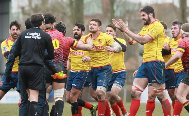 Rugby Europe impone sanciones ejemplares a cinco jugadores de España