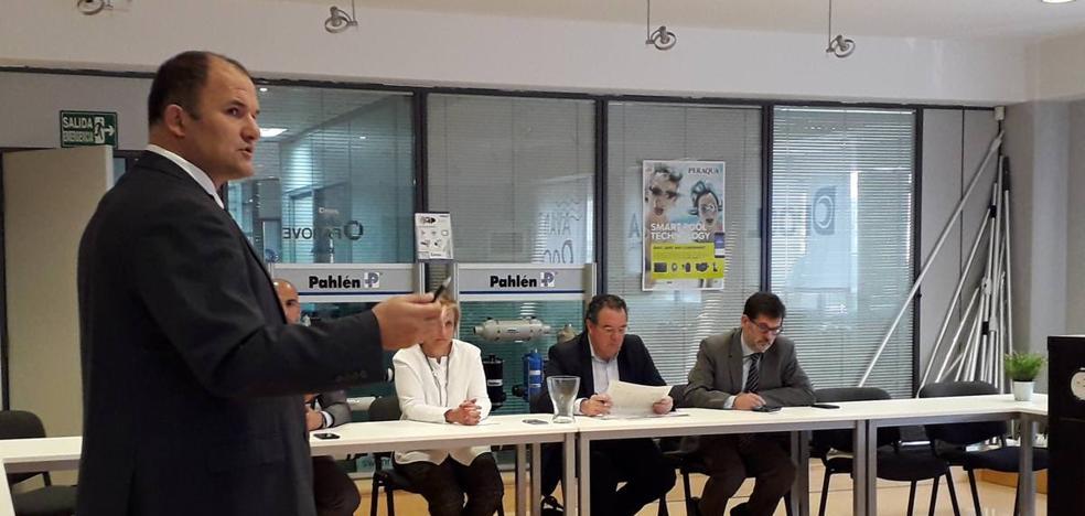González Menorca visita Diasa Industrial en Calahorra