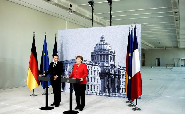Merkel y Macron acercan posturas para reformar la UE