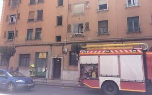 Los bomberos acuden urgentemente a sofocar... una fumigación
