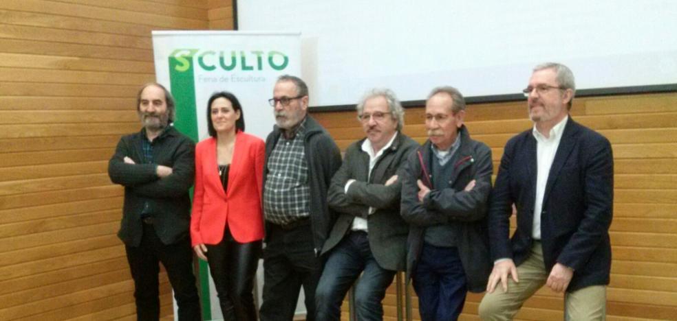 Siete Galardones de las Bellas Artes en La Rioja apoyan a Sculto