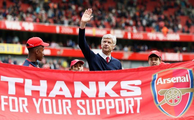 Wenger deja el Arsenal tras 22 temporadas