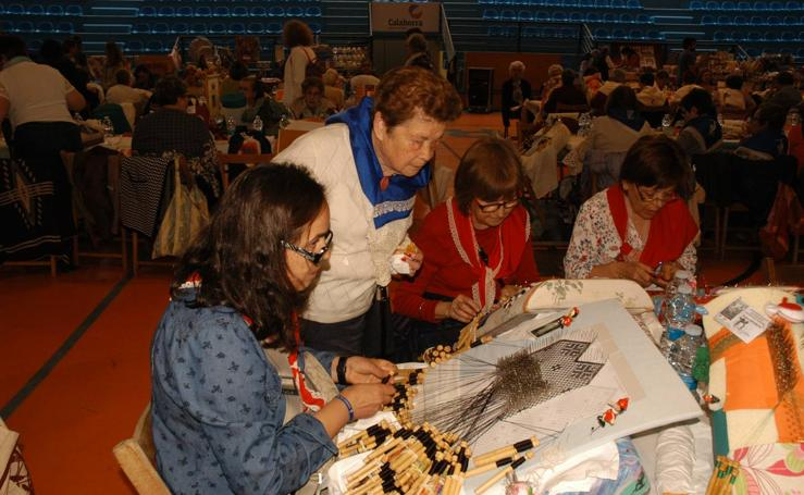 Calahorra: XV exhibicion de artesania textil