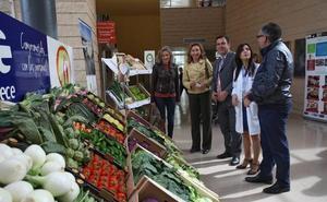 Los pacientes del Hospital de Calahorra comerán un menú especial de verdura fresca