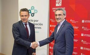 La UR se adhiere al Pacto por la Emancipación de los Jóvenes en La Rioja