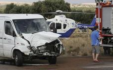 Los accidentes con furgonetas se disparan con el auge del comercio electrónico