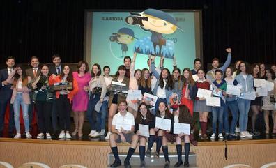 Los premios de Reportero Escolar se marchan a Logroño y Autol