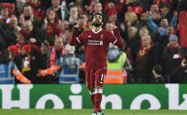 Salah dispara a los 'reds' hacia la final
