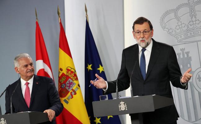 Rajoy niega un trueque de competencias con el PNV por su apoyo presupuestario