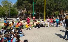Musiqueando llena los parques de Logroño de música