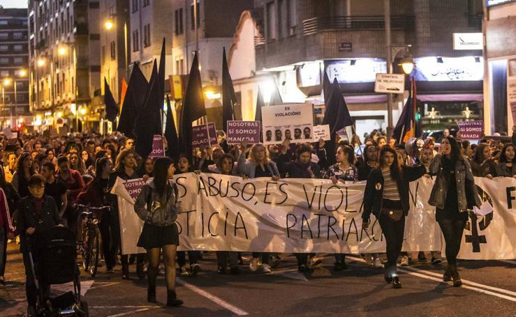 Logroño clama contra la decisión sobre 'la manada'