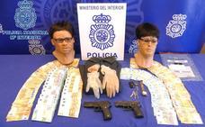 Dos detenidos tras atracar una sucursal de La Caixa en Ronda de los Cuarteles