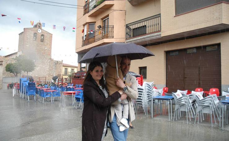Procesión de las fiestas de San Pedro Mártir de Verona en Rincón de Olivedo