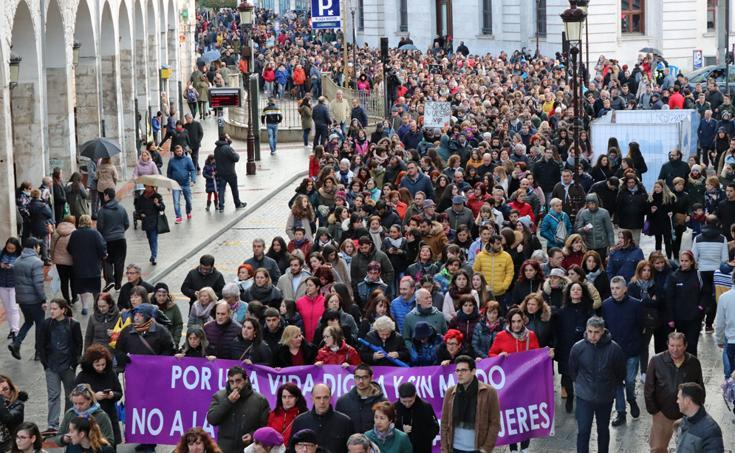 Burgos grita «¡Basta ya!» a la violencia de género