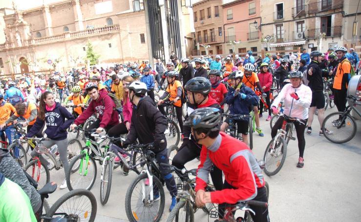 20ª marcha en bicicleta a Yerga y pochada popular en Aldeanueva de Ebro