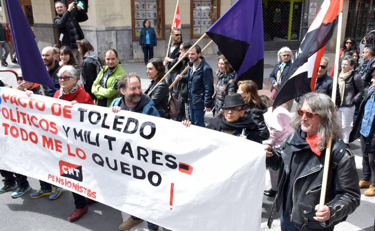 Manifestación por el Primero de Mayo de la CNT