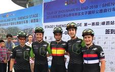 Sheyla Gutiérrez, nueva líder en el Tour de la Isla Zhoushan