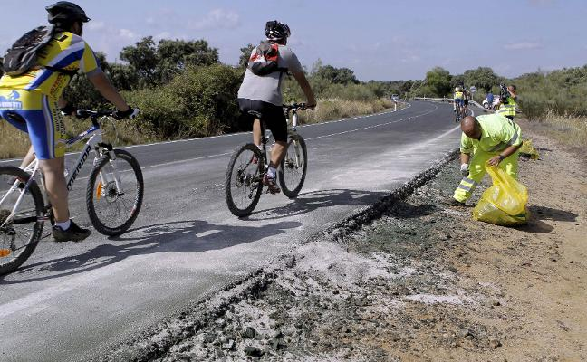 3.856 accidentes, 44 ciclistas muertos