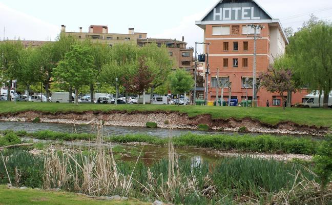 Nájera pide permiso a la CHE para reparar la orilla derecha del Najerilla
