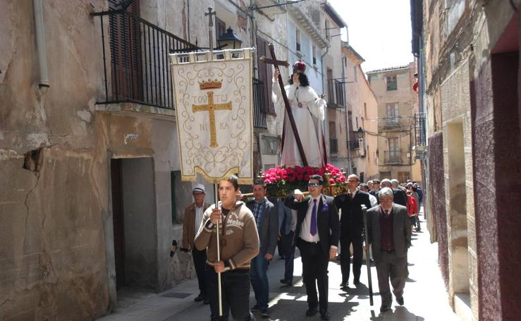 La Vera Cruz celebró Santa Elena en Calahorra