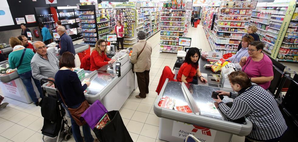 Supermercados a tiempo completo