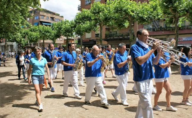 La Agrupación Musical Najerense tocará en fiestas de San Juan y San Pedro