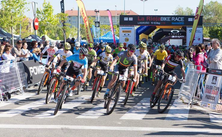 Primera etapa de La Rioja Bike Race (I)