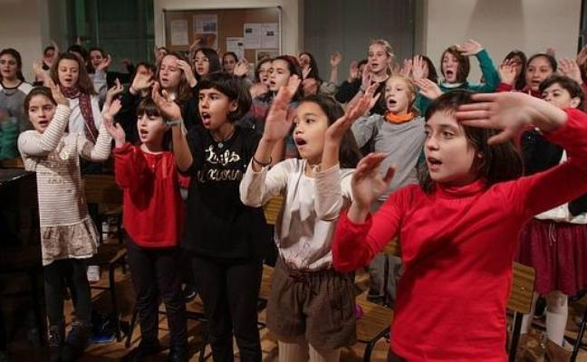 Encuentro de coros en el Auditorio municipal