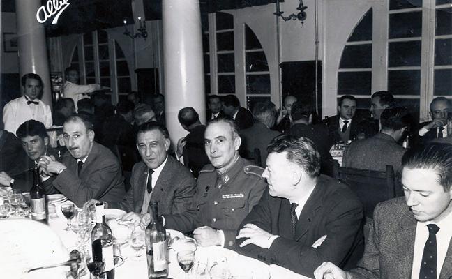 La Retina: cena en la Residencia Militar