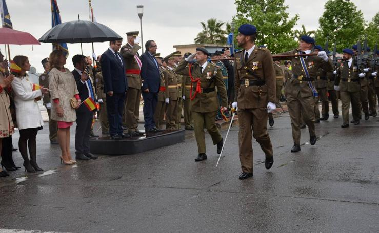 Una jura de bandera pasada por agua en Calahorra (II)