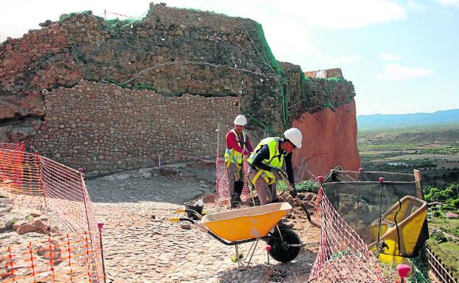 El castillo de Arnedo, paso a paso