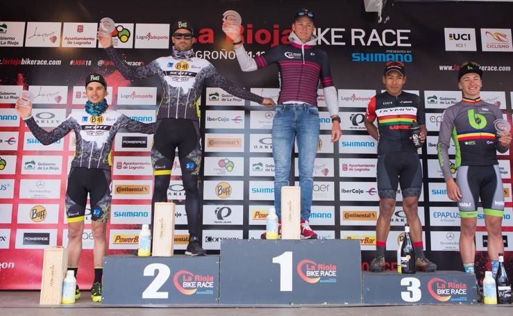 La Rioja Bike Race - Tercera etapa: El podio de los ganadores