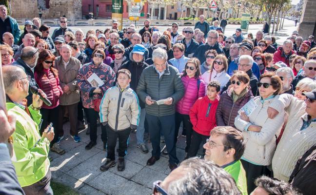 Santo Domingo acogió la ruta didáctica 'Geolodía'