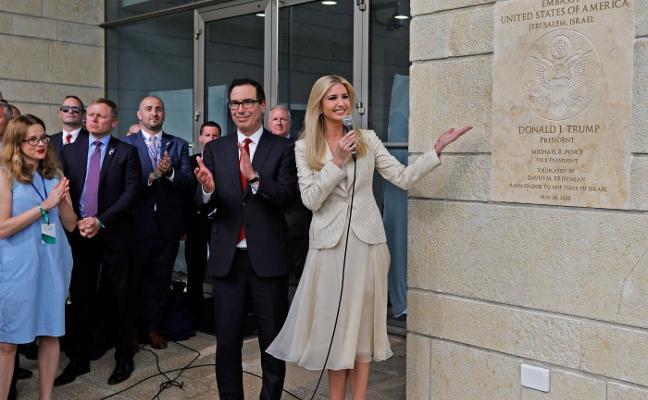 Una inauguración «histórica» presidida por Ivanka Trump