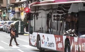 Este miércoles habrá cambios en la Línea 10 de los autobuses urbanos por dos concentraciones