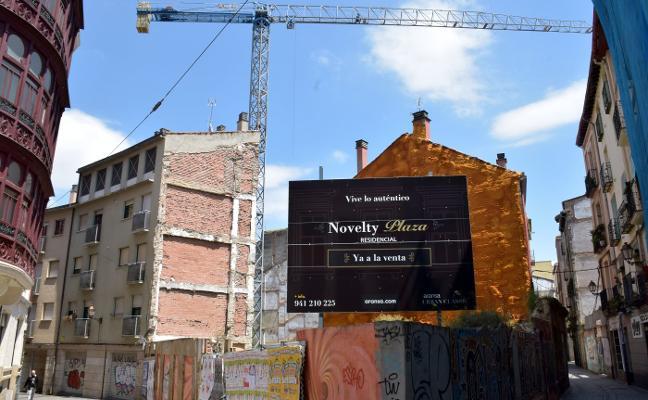 Las obras vuelven al gran solar del PERI Carnicerías tras siete años de abandono